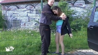 Teenager Bones Used And Fucked Outside And Public Novice