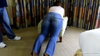 Student Dealt with on the Elegance Traverse! - (Spanking)