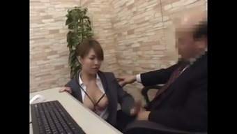 japanese ol and her lewd chief stage 1(one) - more on hdmilfcam.com