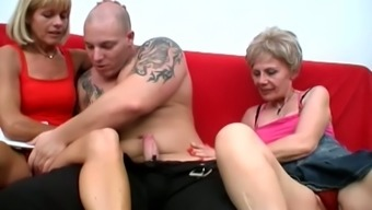 Raunchy whore Rosalie is a sex obsessed granny with a never ending sex drive