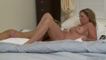 Step aunt turned to be very perverted lesbian and fucked Jodi West like nobody else before