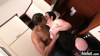 Black cock destroys her small cunt