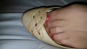 I want you to cum in my shoes