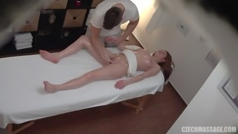 Major titty date get a massage therapy along with a happy ending