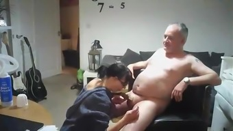 Swedish selfmade video of a mature mom fucking bro