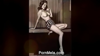 Well known Movie star Marilyn Monroe Vintage Nudes Compilation Video