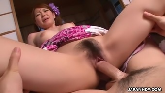 kana suzuki and shanghai mimura get fucked in threeway