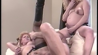 Astonishing becomes pregnant product performed in intense in ffm pornography