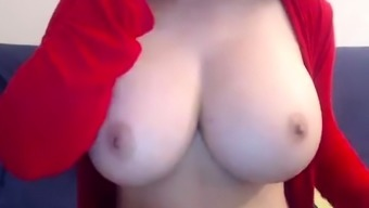 Slender Dark Great Organic Boobs Remove And Spin