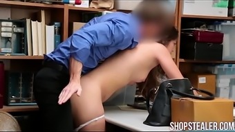 Fascinating Criminal Shane Blair Delivering Blowjob