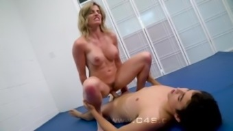 Cory Run after in Move Mom wrestle Fucks her Step-Son