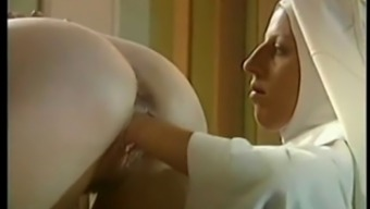 a pair of nuns fuck priest and fists one another