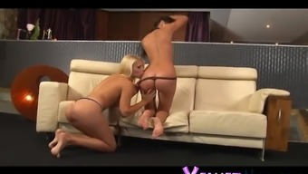 Lesbian chick Brandy Beam loves a great babe's amazing body