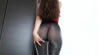 Heated Stupid ass And Pussy Vibrating In Panty Pipe