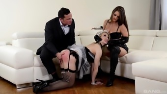 Chessie Kay and one more love know what a wayward stud wishes