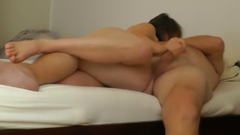 Peter and Anna masturbate each other Part 1
