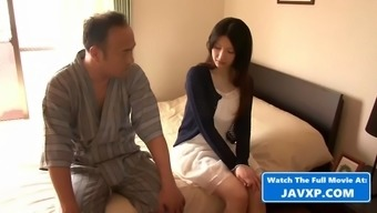 Beautiful asian teen fucked by old pervert