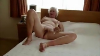 Horny busty blonde amateur wife ass fucked in a hotel