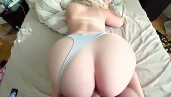 Big Gorgeous Ass! Homemade POV College Porn!