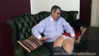 One late night means two early morning spankings
