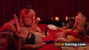 Chrissy and craig celebrate birthday with the hottest full swap