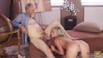 OLD4K. Shanie Ryan finally will try dick of their Location...