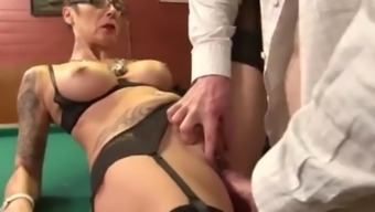 French milf checks outs candidate&#39s credentials