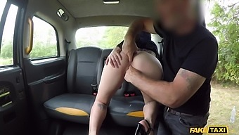 Deep pussy action with the cab driver in a popular tryout