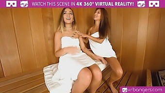VR BANGERS Asian stepsister loves hot and steaming fucking