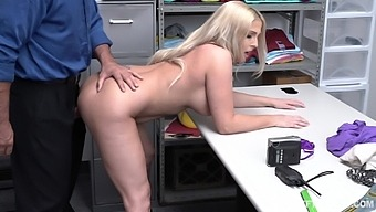 Chubby stepmom Christie Stevens is fucked in front of her stepson