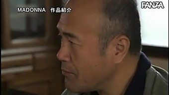 Japanese wife cheats with father in law