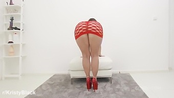 All hail the Booty Queen! Kristy Black wants only tons of piss and hardcore anal fucking with ass pissing, DAP & huge facial