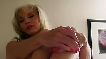 Blonde MILF with Big Boobs Playing Cam Free Porn