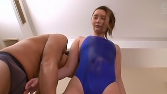 Fit Japanese chick Sagiura Anna moans while getting fucked