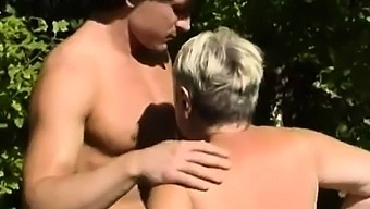 Mature lady with  Boy 05