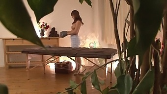Japanese Woman Gets Massage, Gets Turned On And Wants To Be Fucked! Part 1. Full 1 Hour Video