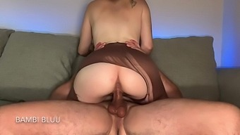 He Ripped My Pantyhose Off My Big Ass And Railed My Tight Pussy