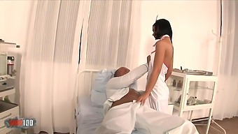 We All Fantasized About The Beautiful Nurses With Black Angelika And Lauro Giotto