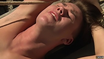Outdoors BDSM video of two dudes fucking each other in the butt