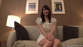 POV video with a naughty Japanese chick being fucked in the Hotel