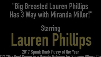 Great Breasted Lauren Phillips Has three (3) Approach by using Miranda Miller!