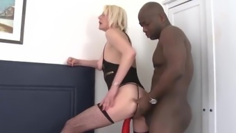 Mature Difficult Anal passage Fuck Intense Interracial cumshot