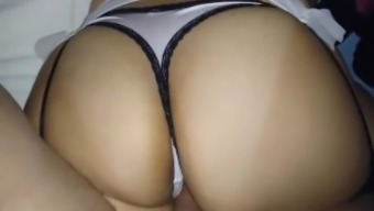 sizzling latina girl friend gets fucked in her large booty