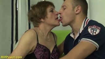intense naughty hirsuite the german language gran take pleasure in her first porno video filming