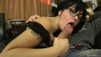 Man gets blessed with good luck by using gorgeous brunette MILF Of asia Morante