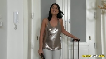 Attractive missy Aida Cute stinks dick and gets fucked like there's no in the near future