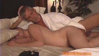 Daddy wedged fucking Young adult Dame Female descendant