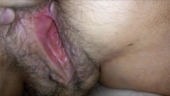 BIG HAIRYass Stormy Vaginal canal