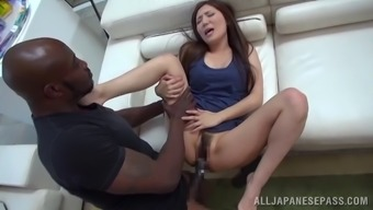 Daring Japanese people babe gets her twat extended out utilizing a great beyond compare prick