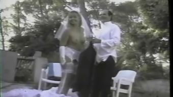conversational french girl gets fucked whereas utilizing a white colored bridal dress